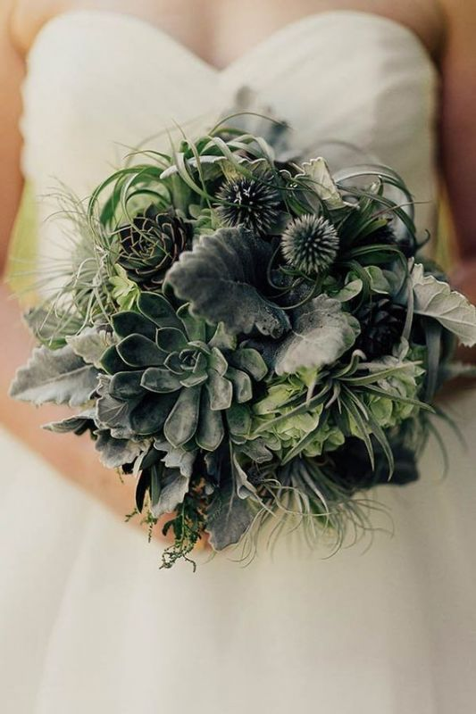 botanical wedding trend for 2017